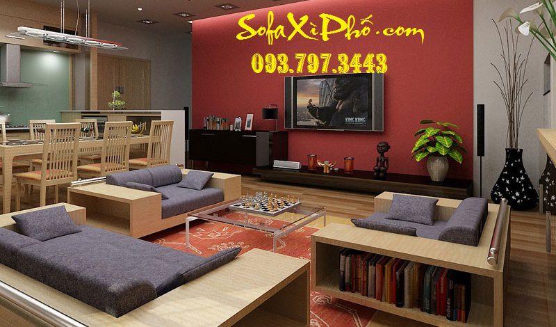 May áo nệm sofa gỗ - May mới nệm salon, sofa gỗ quận 7