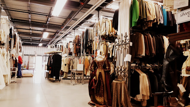 Endless rows of costumes at the Stratford Festival Costume Warehouse. From Visiting Stratford, Ontario? The first thing you need to do...