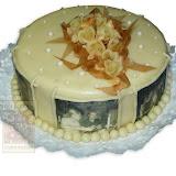 8. kép: Fényképes torták - Fényképes rózsás torta