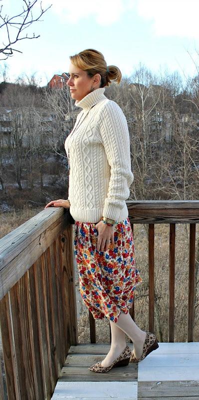 vintage-floral-skirt-leopard-wedges-4
