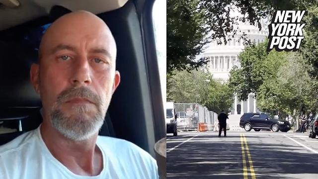 Apresan sujeto que amenazó con bomba el Capitolio; transmitía en Facebook su atentado
