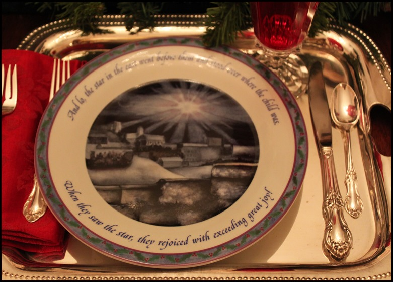 Star of Bethlehem Plate