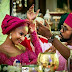 Caught in the act: Photographer captures BankyW adjusting Adesua's gele [See photos]