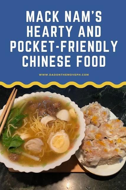 Mack Nam Chinese food review