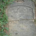 John Crockett Born In Wythe Co. Va.  Jan 20th, 1806 Died June 8, 1883 John was the son of Samuel & Elizabeth Campbell Taylor Crockett and the brother of Malvina Crockett who married James Turk Gleaves. John's father, Samuel, was the brother of Joseph Crockett.