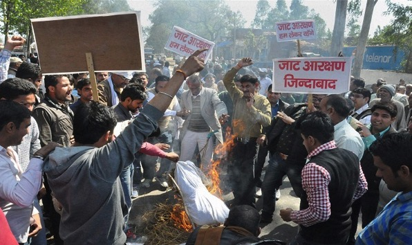 Jat protest4