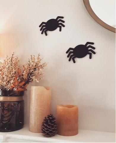 Kid Friendly Halloween Decor via Work Your Closet