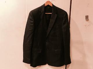Versace Jeans Couture Metallic Blazer