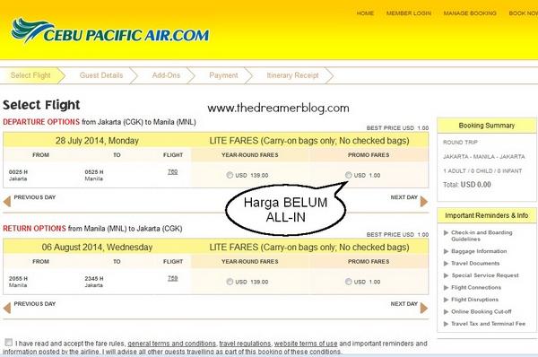 Cara Tips Dan Trik Membeli Tiket Pesawat Promo Murah Secara Online