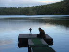 Filming on a Lake
