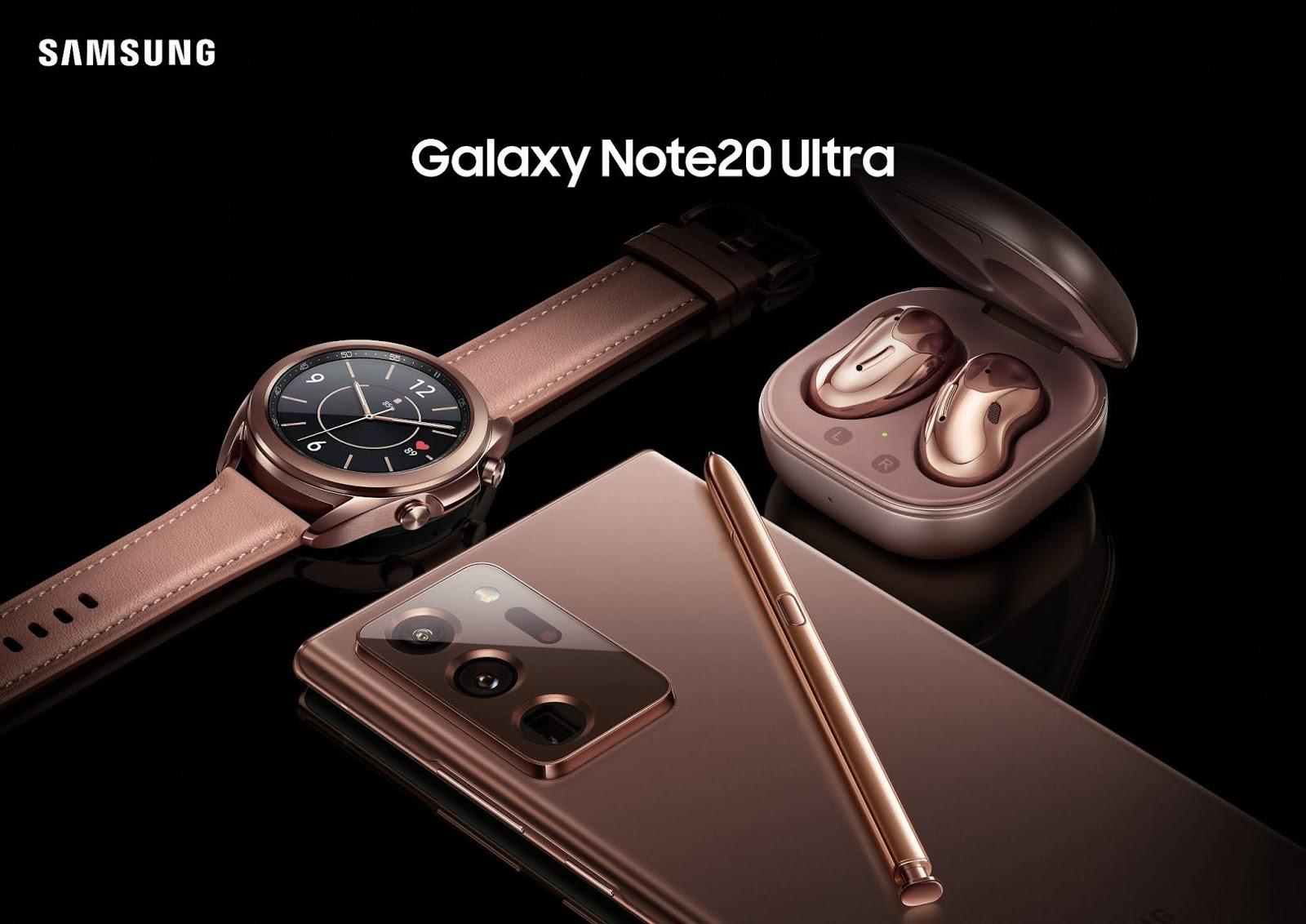 จำหน่ายแล้ววันนี้! Samsung Galaxy Note 20 Series พร้อม Galaxy Buds Live และ Galaxy Watch 3