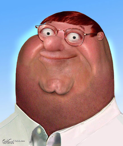 Peter Griffin Untooned