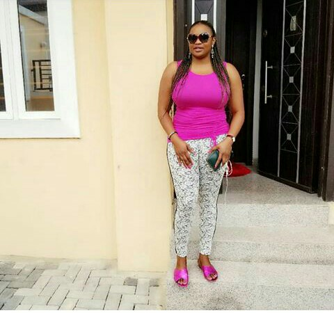 The Gods Have Made You Mad -- Actress Funke Adesiyan Lash out at Fan [PICS]