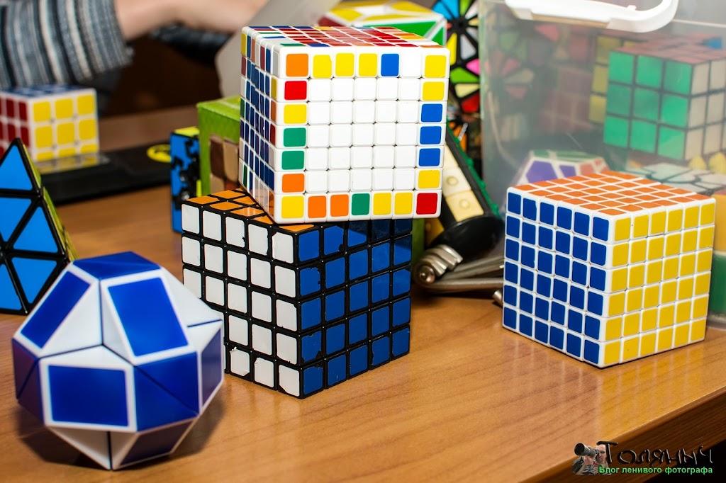 Кубики Рубика - разные модификации