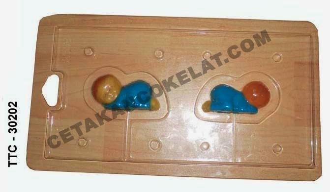 Cetakan Coklat TTC30202 Bayi