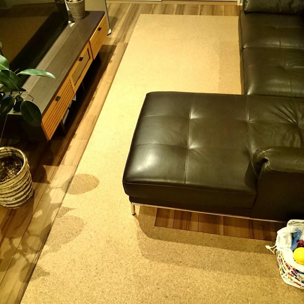 コルクマット-床暖房
