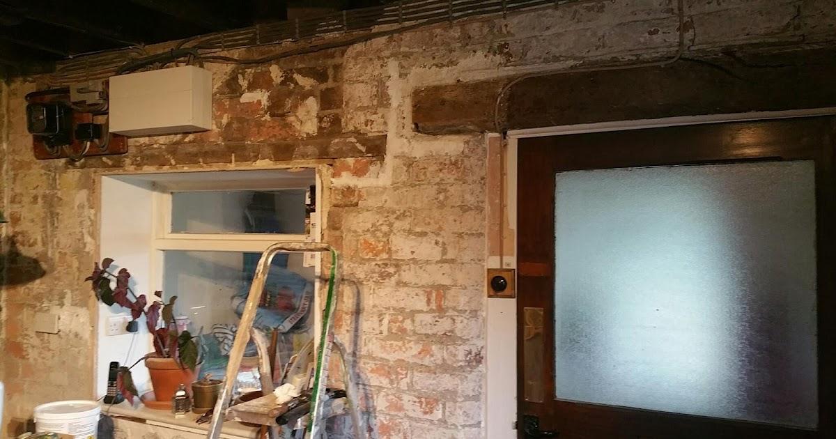 renovating an old stone cottage chalk paint for damp. Black Bedroom Furniture Sets. Home Design Ideas