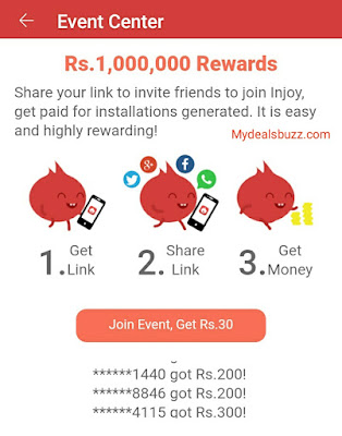 invite and earn money android app