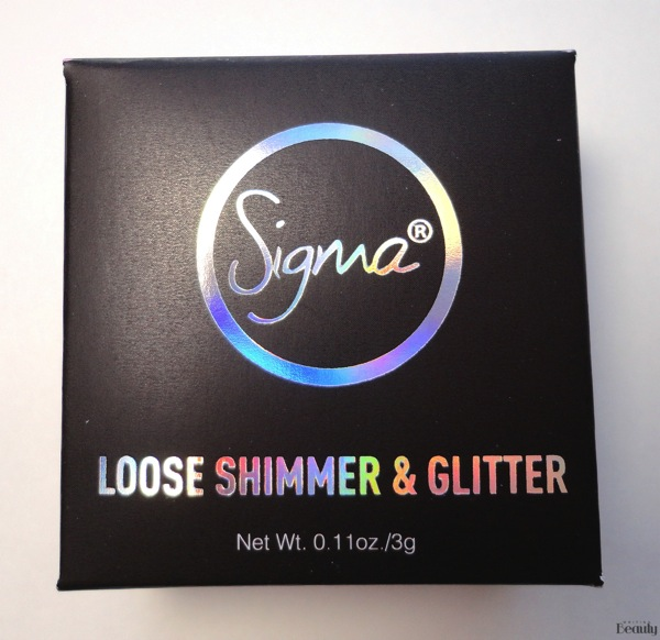 Sigma Beauty Loose Shimmer  Glitter Review