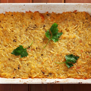 Copycat Cracker Barrel Hash Brown Casserole.