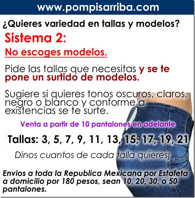 Sistema 2 de compra Ve modelos 2019 Pretina Ancha Baratos Mezclilla Stretch
