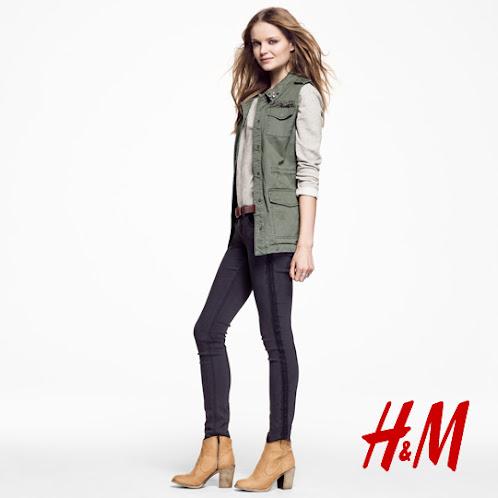 Cá Tính, Mạnh Mẽ với Lookbook H&M 2013