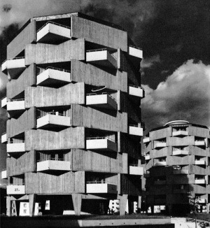 Block of Flats, Lahr, Germany, 1959-62