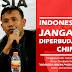 INDONESIA JANGAN DIPERBUDAK CHINA