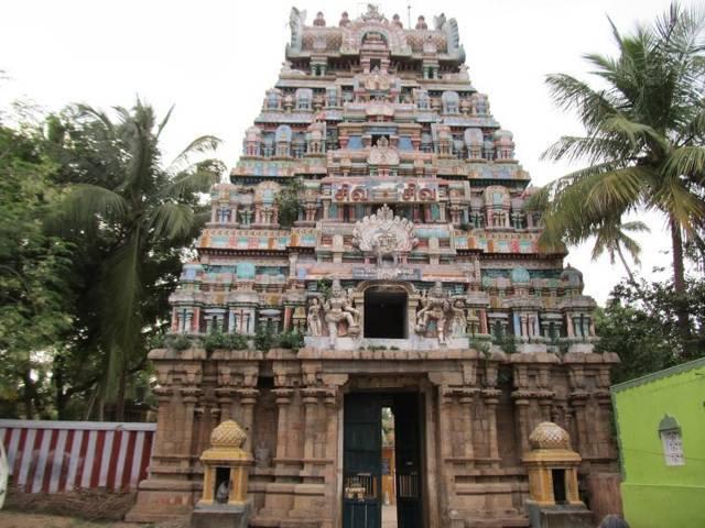Sri Neyyaadiyappar Temple, Thiruneithanam, Thiruvaiyaru - 275 Shiva Temples