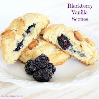 Blackberry Vanilla Scones