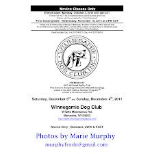 Dec 2011 Agility Trial