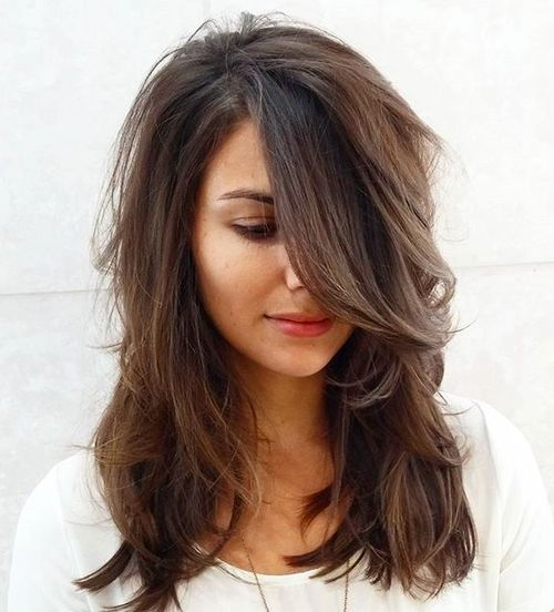 Medium layered universal haircuts to feature you 1