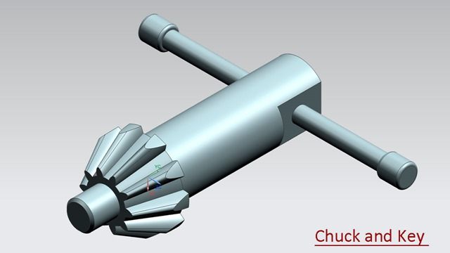 Chuck and Key -  Siemens Nx Tutorial