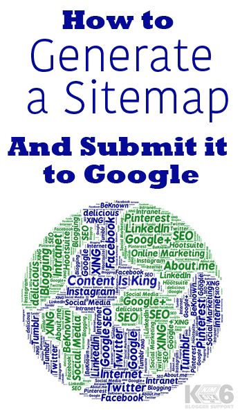 How To Generate A Sitemap and Submit It To Google