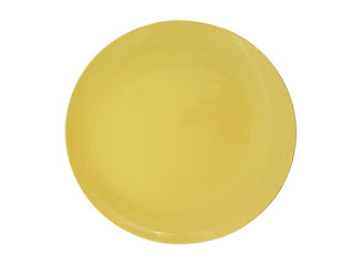 Billy Cotton Yellow Charger Plate