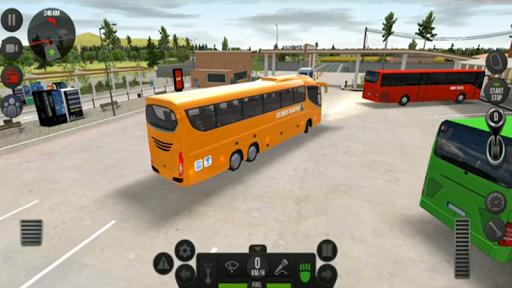 Modern Heavy Bus Coach: Public Transport Free Game  screenshots 7
