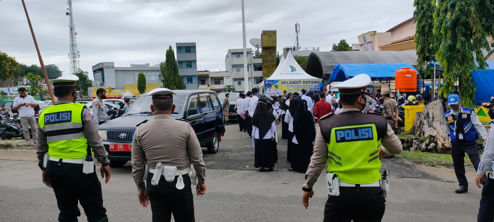 Polres Soppeng Kerahkan Personil Laksanakan Pengamanan SKD