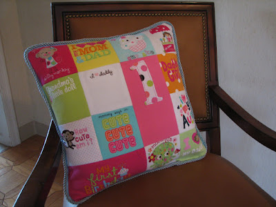 How cute is this pillow?  ;)