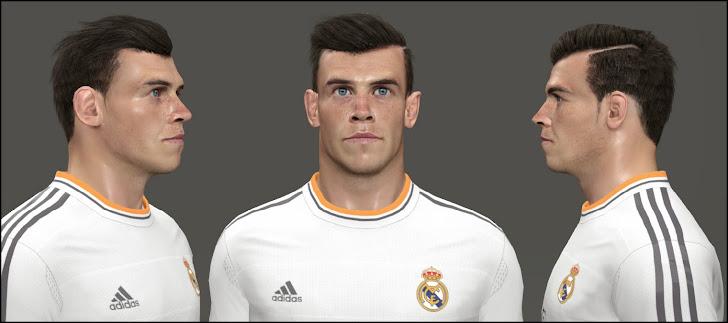 Gareth Bale Face - PES 2014