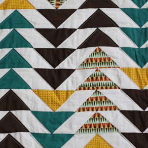Falling Geese Quilt