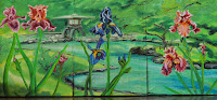 triptych irises
