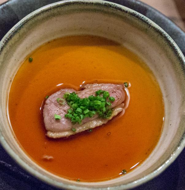 photo of Steamed Foie Gras Custard from Aburiya Raku