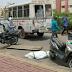 ÍNDIA: CORPO DE VÍTIMA DE COVID CAI DE AMBULÂNCIA NA SAÍDA DE HOSPITAL