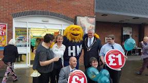 Deputy Mayor welcomes new Poundland store