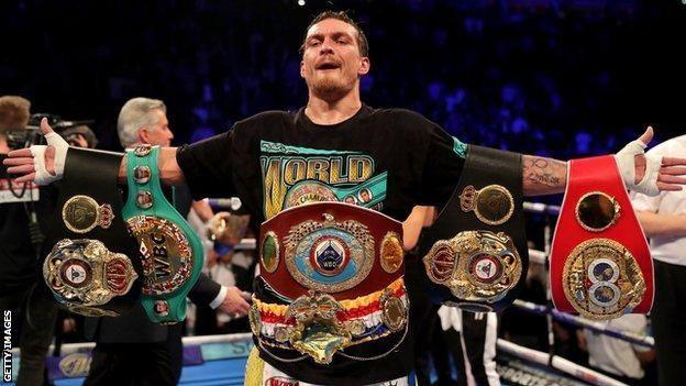 Meet The New World Heavyweight Champion – Anthony Joshua defeated