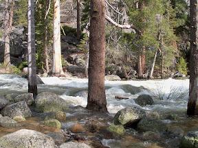 Merced River, on the John Muir Trail