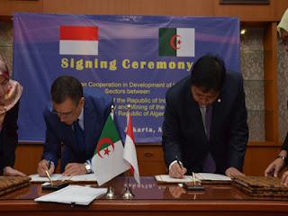 Coopération industrielle algéro-indonésienne : Signature d'un mémorandum d'entente
