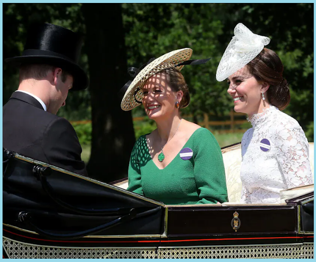 the royal family's memorable moments from Royal Ascot