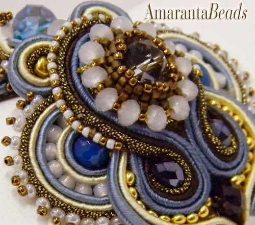 Soutache Bead Embroidery by Amaranta Beads