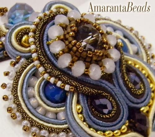 Soutache Bead Embroidery by Amaranta Beads
